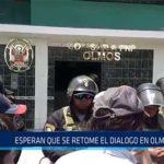 Chiclayo: Esperan que se retome el dialogo en Olmos