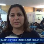 Piura: Omaped entregará sillas de ruedas