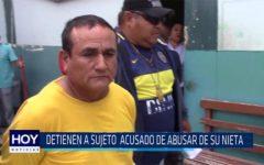Chiclayo. Detienen a sujeto acusado de abusar de su nieta