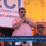 """Chiclayo: """"Programas sociales generan mayor gasto para el estado"""""""