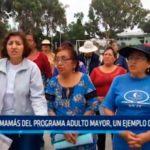 Informe Especial: Las mamás del programa adulto mayor, un ejemplo de entrega