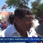 Piura: Agricultores anuncian paro indefinido