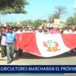 Piura: Agricultores de la Región marcharán por la Reconstrucción