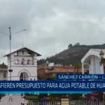La Libertad: Transfieren presupuesto para agua potable de Huamachuco