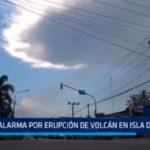 Indonesia: Alarma por erupción de volcán en isla de java
