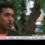 El defensa Erasmo Suviaga trabaja para aportar al Alianza Libertad