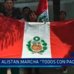 """Alistan marcha """"Todos con Paolo"""""""