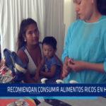 Chimbote: Recomiendan consumir alimentos ricos en hierro