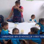 Chiclayo: Lambayeque: 40% de menores de 3 años tiene anemia