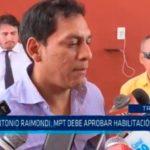 Colegio Antonio Raimondi: MPT debe aprobar habilitación urbana