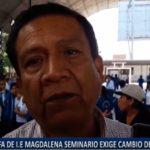 Piura: Apafa de I.E Magdalena Seminario de LLirod exige cambio de docente