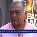 Chiclayo: Ex alcalde de Chiclayo critica ordenanza contra mototaxis