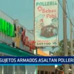Trujillo: Sujetos armados asaltan pollería