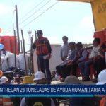 Chiclayo: Entregan 23 toneladas de ayuda humanitaria a Mórrope