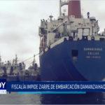 Chimbote: Fiscalía impide salida del buque Factoría