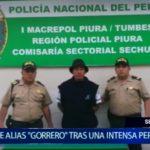 """Piura: Cae alias """"El Gorrero"""" tras una intensa persecución"""