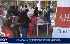 Piura: Campaña de prevención de VIH Sida