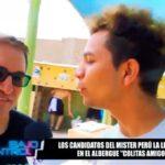 Candidatos al Mister Perú La Libertad en Colitas Amigo
