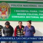 """Piura: Capturan a """"Las Chiclayanas"""" en Sechura"""