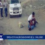 Chimbote: Droga está valorizada en más de s/. 2 millones
