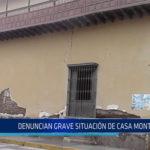 Chiclayo: Denuncian grave situación de casa Montjoy
