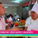 Rico y Baratito: Ceviche crocante caliente