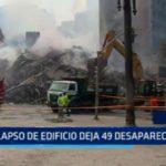 Brasil: Colapso de edificio deja 49 desaparecidos