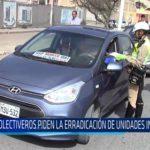 Chiclayo: Colectiveros piden la erradicación de unidades informales