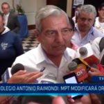 Colegio Antonio Raimondi: MPT modificará ordenanza