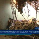 Trujillo: Comedor del Vaso de Leche a punto de desplomarse