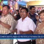 Chiclayo: Comerciantes piden se postergue reparación de mercado