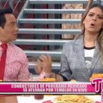 Conductores de programa mexicano se aterran por temblor en vivo