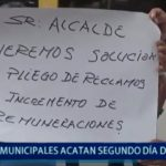 Piura: Continúa la huelga de trabajadores municipales
