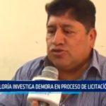 Contraloría investiga demora en proceso de licitación en el Gobierno Regional La Libertad