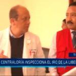 Contraloría inspecciona el IRO de La Libertad