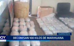 La Libertad: Decomisan 100 kilos de marihuana