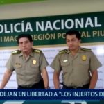 "Piura: Dejan en libertad a ""Los Injertos"""