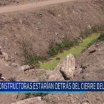 Chiclayo: Constructoras estarían detrás del cierre del Dren 3100
