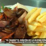 """""""El Tambo"""" el rincón de la buena comida"""
