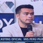 """Piura: Entrevista a director """"Miss Perú – Piura 2019"""""""