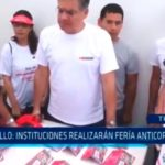 Trujillo: Instituciones realizarán fería anticorrupción
