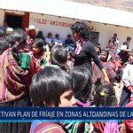 Chiclayo: Activan plan de fríaje en zonas altoandinas de Lambayeque