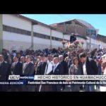 Huamachuco: Festividad de San Francisco de Asís es Patrimonio Cultural de la Nación