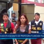 Implicada en asesinato de profesora planeaba fugar a Chile