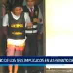 Delicuentes de Callao implicados en asesinato de docente