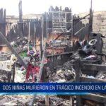 Chiclayo: Dos niñas murieron en trágico incendio en la Pradera