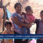 Chiclayo: Indeci: Si estamos llegando a lugares alejados por emergencia