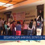 Chiclayo: Descartan gripe AH1N1 en el distrito de Monsefú