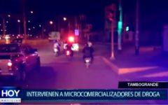 Piura: Intervienen a presuntos microcomercializadores de droga