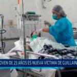 Joven de 23 años es nueva víctima de Guillain Barré